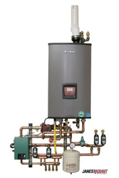 Lochinvar Condensing Combi Boiler with mechanical panel