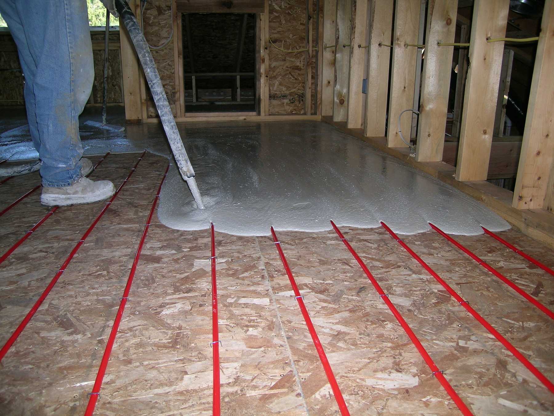 Janes Radiant Install Floor Heating Yourself