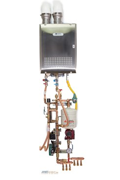 our panel C shown below a tankless water heater